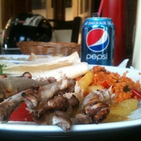 Photo taken at Teras Cafe (Beyaz Kale) by Ersin K. on 5/14/2012