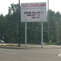 Photo taken at Hill's Foodland Supermarket by Karen B. on 8/21/2011