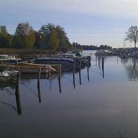 Photo taken at Lindholmsviken by Peter N. on 10/9/2011