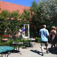 Photo taken at Apotekarns Trädgårdscafe by Karin A. on 7/27/2012