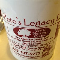 Photo taken at Pete's Legacy Diner by Jane B. on 6/5/2012
