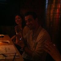Photo taken at L'Écurie Bar et Table by Julie B. on 5/2/2012
