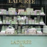 Photo taken at Ladurée Milan by Elena B. on 2/1/2012
