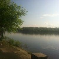 Снимок сделан в Русановская набережная пользователем Olga A. 5/17/2012