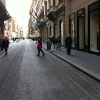 Photo taken at Via del Corso by Ugo A. on 4/19/2012