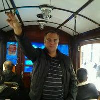 Photo taken at Galatasaray Tramvay Durağı by Emrah B. on 10/19/2011