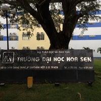 Photo taken at Hoa Sen University Campus 2 by koji n. on 7/3/2012