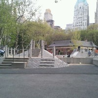 Photo taken at Heckscher Playground by Joy O. on 4/15/2012