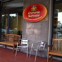 Photo taken at Cremeria Scirocco by Corporea E. on 5/22/2012
