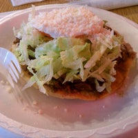 Photo taken at King Taco Restaurant by Sabrina G. on 1/4/2012