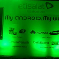 "Photo taken at Etisalat Android Forum - ""What Can Android Do For You?"" by Asanka S. on 11/8/2011"