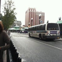 Photo taken at Kennedy Plaza Bus Terminal by Emily T. on 9/22/2011