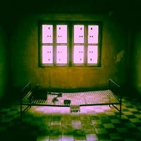 Photo taken at Tuol Sleng Genocide Museum by Miki M. on 1/29/2012
