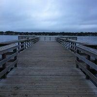 Photo taken at Windward Beach T~Dock by Jodi P. on 9/8/2011