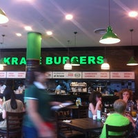 Photo taken at Kraze Burgers by Larry P. on 4/21/2011