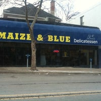 Photo taken at Maize N Blue Deli by Andrew I. on 1/5/2011