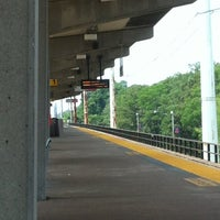 Photo taken at LIRR - Bellmore Station by Phabi on 7/7/2012