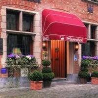 Photo taken at Prinsenhof Hotel by Thibaud L. on 7/19/2011