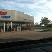 Photo taken at Hy-Vee Gas by Liz H. on 8/3/2011