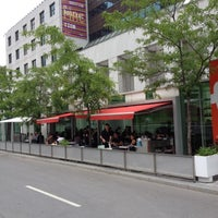 Photo taken at Brasserie T by Christian M. on 6/8/2012