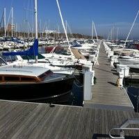 Photo taken at McKinley Marina Center Docks by Jim B. on 10/12/2011