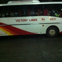 Photo taken at Victory Liner (Cubao Terminal) by gracia d. on 10/9/2011