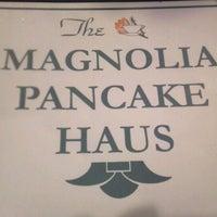 Photo taken at Magnolia Pancake Haus by Ryan L. on 10/15/2011