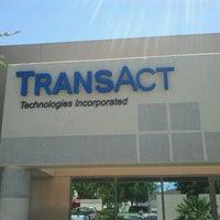 Photo taken at TransAct Technologies Inc by Armando F. on 6/9/2011