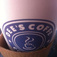 Photo taken at Dee's Coffee Company by Tim L. on 6/4/2012