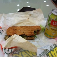 Photo taken at Subway by Glaysson S. on 6/13/2012