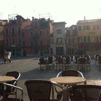 Photo taken at Campo Santa Margherita by Marta T. on 3/3/2012
