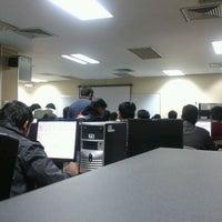 Photo taken at Takshashila Building by Prateek A. on 1/13/2012