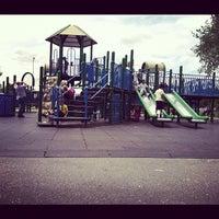 Photo taken at Juniper Valley Park Playground by Isabel M. on 6/2/2012