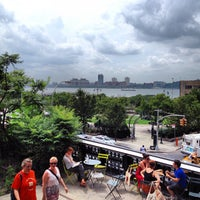 Photo taken at High Line 10th Ave Amphitheatre by Eduardo T. on 7/15/2012