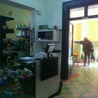 Photo taken at Cafetería y Nevería Los Alpes by Erik R. on 1/11/2012
