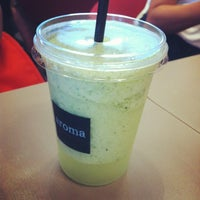 Photo taken at Aroma Espresso Bar by HanBi K. on 7/8/2012
