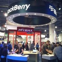 Photo taken at BlackBerry #CES Booth 30326 by RecioC on 1/12/2012