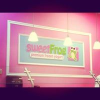 Photo taken at SweetFrog by Mrs. KJH on 12/7/2011