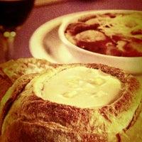 Photo taken at Fran's Café by Célio M. on 2/13/2012