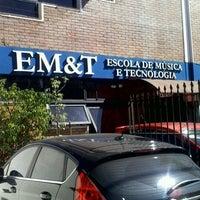 Foto tirada no(a) EM&T - Escola de Música e Tecnologia por Tiago Cândido I. em 8/11/2012