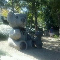 Photo taken at Teddy Bears Sculptures by Joseph U. on 10/21/2011