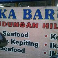 "Photo taken at Santiga Seafood ""Abeng"" Benhil by poedy a. on 2/23/2012"