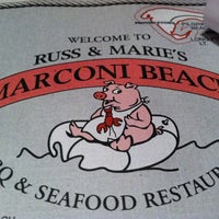 Photo taken at Russ & Marie's Marconi Beach BBQ & Seafood Restaurant by Erika R. on 7/31/2011