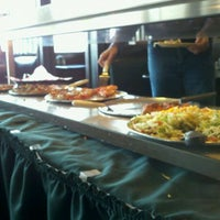 Photo taken at Village Inn Pizza Parlor by Mike G. on 4/1/2011