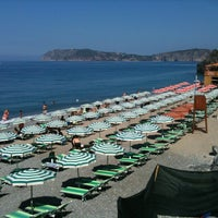 Photo taken at Spiaggia da Peppe by Nicolò L. on 8/5/2011