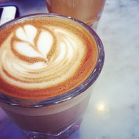 Photo taken at Cognoscenti Coffee (at Proof Bakery) by Daniel M. on 4/6/2012