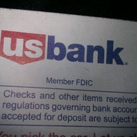 Photo taken at U.S. Bank ATM by Gustavo M. on 12/2/2011