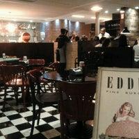 Photo taken at Eddie Fine Burgers by Cristal B. on 10/8/2011