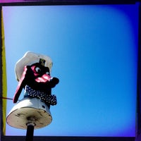 Photo taken at Doggie Diner Head by bridget on 4/1/2012