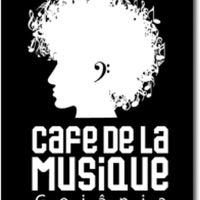 Photo taken at Cafe de La Musique by Daniel S. on 3/25/2012